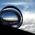 Afbeelding van een geblazen bol.