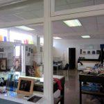Een overzichtsfoto van het glasatelier van ruud harberts